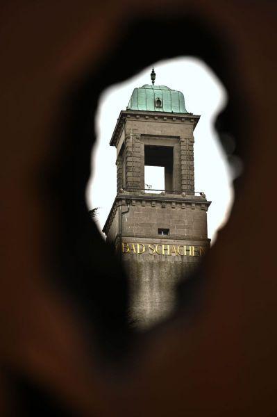 """""""Turmblick"""" (Detail) von Gerhard Gerstberger"""